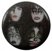 Kiss - 'Dynasty' Button Badge